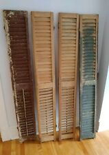 Vintage Set Of Functional Shutters