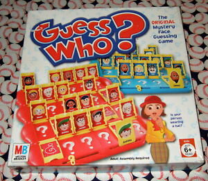 Guess Who? Board Game Replacement Pieces Parts 2003 2005 Milton Bradley