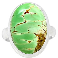 Variscite 925 Sterling Silver Ring Jewelry S.8.5 VRSR142