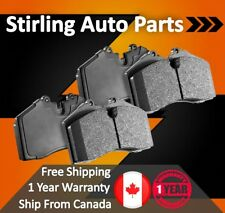 One Year Warranty 2015 for Fiat 500L Front Premium Quality Disc Brake Rotors And Ceramic Brake Pads - Stirling For Both Left and Right