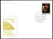 Polen Poland 1977 Brief Cover mit SoStpl. zur Amphilex  [bc0055]