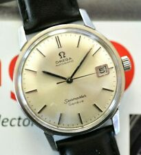 Vintage 1969 Omega Automatic Seamaster Geneve Watch Caliber 565 Stunning Dial!