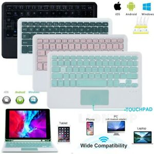 UK Touchpad Bluetooth Keyboard For Samsung Galaxy Tab S2 S3 S4 S5e S6 Lite A6 A7