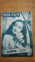 MON FILM N°99 1948 Dorothy Lamour - Aloma princesse des iles