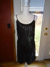 GUESS LOS ANGELES LITTLE BLACK DRESS SIZE 9 NWT SEQUIN JUNIORS MISSES