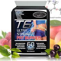 Strongest T6 Fat Burner Weight Loss Tablets Raspberry Ketone Diet Slimming Pills