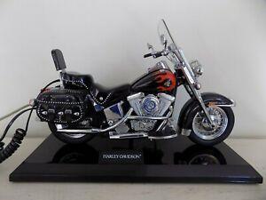 Harley Davidson Motorcycle Telephone Novelty Phone Heritage Softail Landline