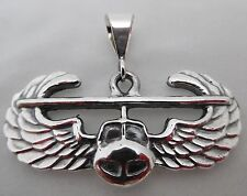 U. S. Army Air Assault Badge Pendant Sterling Silver