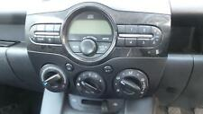 MAZDA 2 RADIO/CD/DVD/SAT/TV CD STACKER - IN DASH, DE SERIES, 09/07-09/14 07 08 0