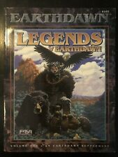 FASA 6301 LEGENDS OF EARTHDAWN RPG SOURCE BOOK SUPPLEMENT - 1995