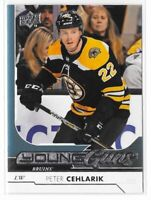 2017-18 Upper Deck Series 2 Peter Cehlarik Young Guns Rookie Card No. 471
