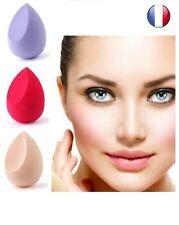 Lot 3 Eponges Maquillage Cosmétique Blender beauté Fond de teint -BB créme- Fard