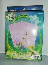 New! Disney Princess Fairies Stamp Activity Set Stickers 3 Paddle Stamps Ink Pad