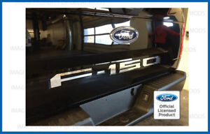 2019 Ford F150 Tailgate Inserts Decals Letters Indent Stickers - CHROME MIRROR