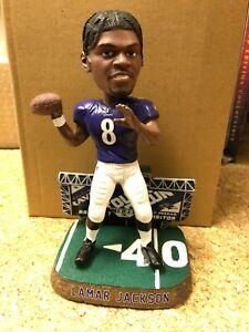 Lamar Jackson Baltimore Ravens Scoreboard SE FOCO NFL Bobblehead NIB LAST ONE