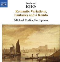 Michael Tsalka - Ferdinand Ries: Romantic Variations Fantasies [New CD]
