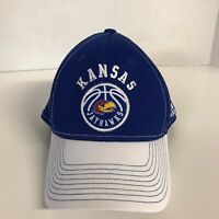 University of Kansas Jayhawks Basketball Adidas Fitted Hat Size S/M