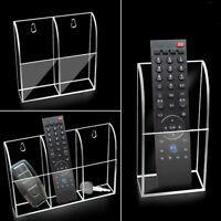 TV Air Conditioner Remote Control 1-3 Case Acrylic Wall Mount Storage Box NT