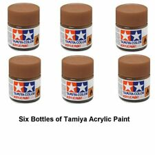 Tamiya 81728 Acrylic Mini XF28 Dark Copper 10 ml Bottle Acrylic Modelling Paint
