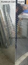 0063 6ft Aluminum Diamond Plate Outside Corner Guard 15x15x72 1 Pc