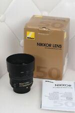 Nikon NIKKOR AF-S 50mm f/1.8G Obiettivo NUOVISSIMO  AFFARE