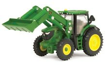 John Deere 6210R Toy Tractor with Front Loader, 1:64 Scale ERTL New In Package
