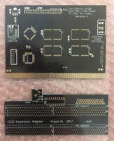 Amiga CD32 TerribleFire TF328 RAM + IDE Expansion PCB - PLUS Riser Board PCB!