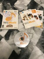 Wii Music (Nintendo Wii, 2008) Game Case Only - No Game