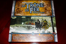 LE TRONE DE FER - JEU DE CARTES - BOARD GAME - NEUF SOUS BLISTER - NEW SEALED