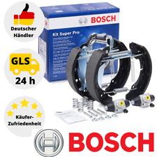 Bosch Bremsbackensatz 0204114546 Mit Radbremszylinder Vormontiert Golf Audi Seat