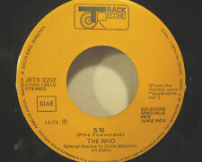 """THE WHO """"5.15""""  rare 7' promo Italy unplayed"""