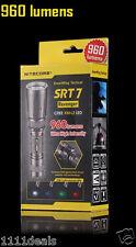 Nitecore SRT7 Revenger 960 Lumens SmartRing CREE XM-L2 T6 RGB LED Flashlight