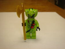 Lego Ninjago Minifigure Lasha with golden axe weapon new