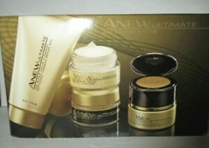 Avon Anew Ultimate 7S Skin Care  Kit  NEW NIB  plus day AND nigth  trial size