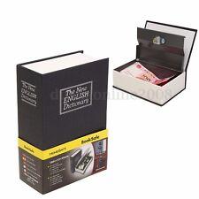 Dictionnaire Secret Coffre-fort Livre Cachette Caisse Boîte Sécurité Antivol Clé