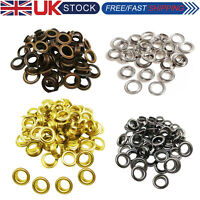 15mm Eyelets Grommets Brass with Washers for Leather Crafts Jacket Bags Repair