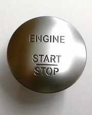 Start Stop Engine Button Keyless Go Chrome Switch FOR Mercedes Benz