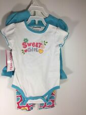 NWT Toddler Girl Outfit Size 3-6 Mos Baby Works