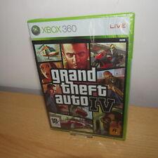 Grand Theft Auto IV 4 XBox 360 Neuf Scellé Complet Original UK version GTA IV 4
