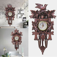 301 Deer Black Forest Cafe Art Swing Vintage Cuckoo Wall Clock Decoration Home