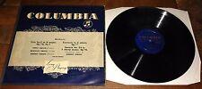 ADOLF HERMANN BUSCH RUDOLF SERKIN BEETHOVEN GOLD COLUMBIA MONO LP 33CX 1043