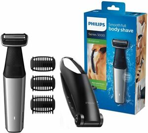 Philips Bg5020/15 Bodygroom Series 5000 With Accessory For Waxing And 3 Combs