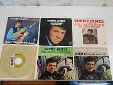 16 Sonny James 45's:Young Love,Here Comes Honey Again,Jenny Lou,Need You,True ++