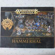 HAMMERHAL NOTICE ASSEMBLAGE BOOKLET INSTRUCTIONS RULES WARHAMMER AGE OF SIGMAR