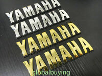 Motorcycle 3D ABS Fuel Tank Fairing Cowl Badge Emblem Decal Sticker For Yamaha