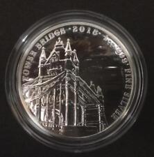 2018 Royal Mint 1oz London Tower Bridge Landmarks Great Britain £2 Silver coin