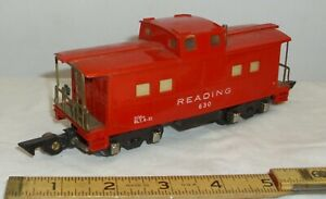 AMERICAN FLYER READING 630 LIGHTED CABOOSE CAR EARLY 1950s