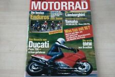 1) Motorrad 13/1986 - Ducati Paso mit 73PS im Fah - Honda XL 600 LM mit 44PS be