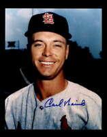 Carl Warwick Hand Signed 8x10 Photo Autograph St. Louis Cardinals