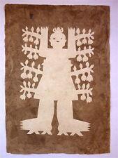 Amate Bark Paper Spirit Figure Art Dios de Cafe #2147